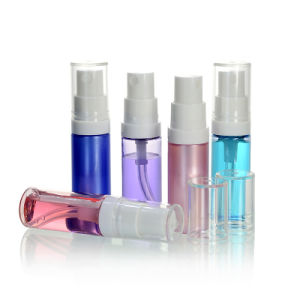 Transparent High Quality Plastic Pet/PETG Skincare Cosmetic Packaging Small Spray Bottles