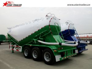 Tri Axles Bulk Cement Tanker Semi Trailer for Sale pictures & photos