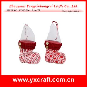 Christmas Decoration (ZY16Y024-1-2 14CM) Christmas Cookie Holder pictures & photos