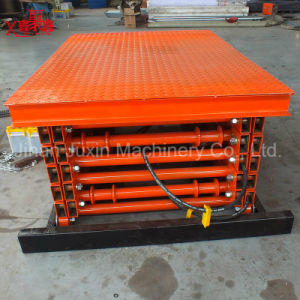 Ce Approved Stationary Scissor Lift Table Goods Lift Table pictures & photos