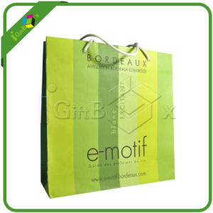 High Quality Recycled Paper Carrier Bags pictures & photos