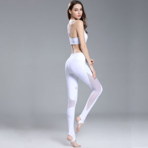85%Cotton 15%Spandex Women Leggings Yoga Wear Sexy Tank Top pictures & photos