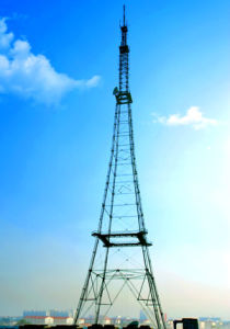 Steel Pipe Transmission Combination Tower pictures & photos