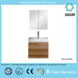 Wall-Hung Bathroom Cabinet with Mirror Cabinet Bls-EU034) pictures & photos
