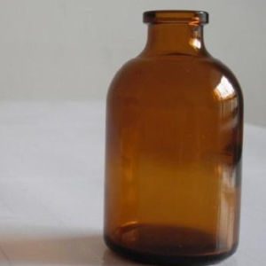 50ml Moulded Glass Bottles/Amber Injection Vials pictures & photos