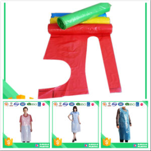 Polyethylene Disposable Apron on a Roll pictures & photos