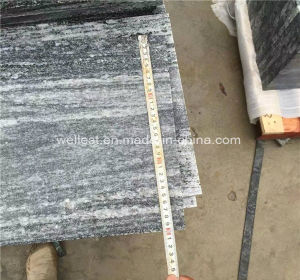 Grey Granite Garden Paving Slabs Stone Tile with Veins pictures & photos