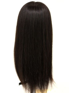 Straight 100% Natural Human Hair Lace Front Wig with Baby Hair pictures & photos