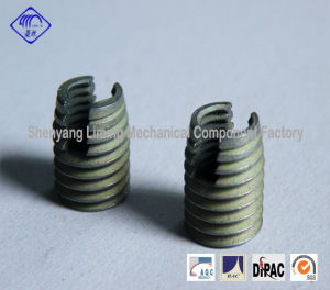 M3-M30 Self-Tapping Screw Thread Insert Fasteners with Two Cutting Slots