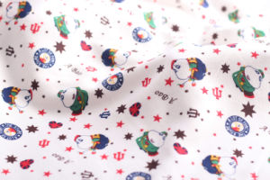 100% Cotton Pigment Reactive Printed Dye White Flannel