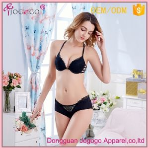 China 2017 Newest Special Design Beautiful Back Sexy Fancy Bra Panty ... 9f47603f2