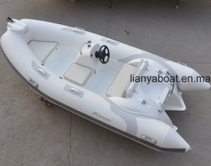 Liya 12.5FT Small Rib Boat with Outboard Engine for Sale pictures & photos