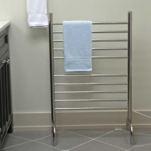 China Bathroom Free Standing Towel Rack