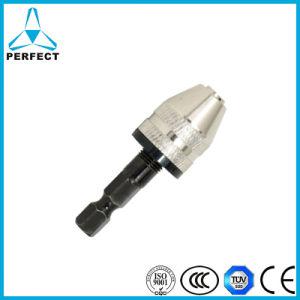"1//4/"" Hex Shank Keyless Drill Bit Chuck Adapter Converter Quick Change Tool P JB"