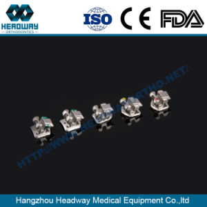 Metal Orthodontic Self-Ligating Teeth Braces with Ce ISO FDA pictures & photos