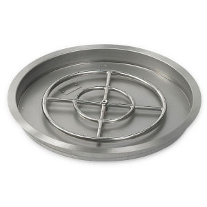 "30"" Round Stainless Steel Drop in Fire Pit Pan pictures & photos"