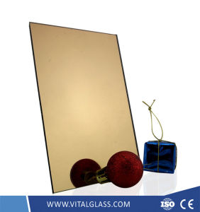 Tinted Beveled Edge Mirror for Decorative Bathroom Mirror