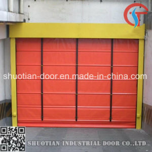 Sectional Fabric Rolling High Speed Stacking Door (ST-001) pictures & photos