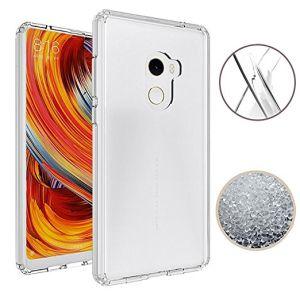 brand new 0ad13 a5053 Xiaomi Mi Mix 2 Case Ultra Thin Transparent Soft Gel TPU Silicone Case  Cover for Xiaomi Mi Mix 2