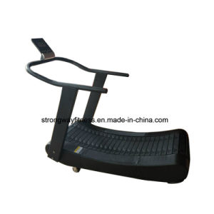 High Quality Gym Equipment Curve Manual Mechanical Treadmill