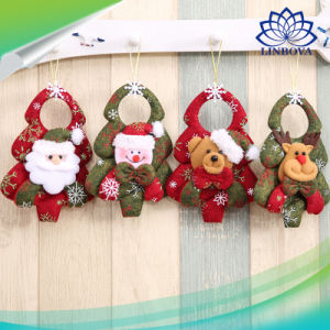 Xmas Christmas Tree LED Snowman Santa Claus Ornament Light Hanging Toy Decors