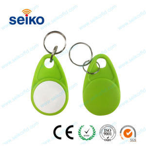 Professional Sale Free Shipping 100pcs Green Color 13.56mhz Keyfob Rfid Smart Key Fob With Mifare Classic 1k Chip Access Control Access Control Cards
