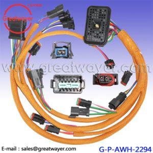 70 pin connector cat 230 6279 e330c 330c c9 engine wiring harness Caterpillar C15 Engine Harness