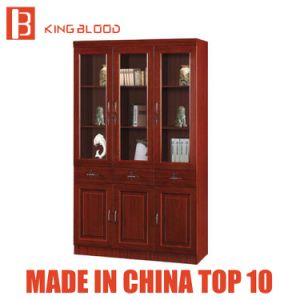 Modern Office Furniture Wooden Bookcase High Quality Office File Cabinet