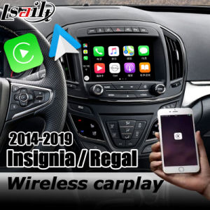 Wireless Carplay Android Auto Interface Box for Opel Insignia Youtube Play Buick Regal Intellilink System