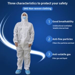 Isolation Gown Protective Clothing Uniform Anti-Static Work Clothes