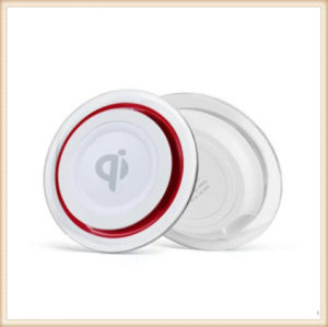 Shenzhen Factory Round Crystal Wireless Charging Pad Qi Wireless Charger  for Samsung Galaxy S8/S6/S7/S7edge/Note5 Iphonex 8