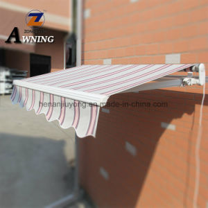 Balcony Motorized Roof Waterproof Outdoor Sun Shade Rain Manual Aluminum  Window Terrace Retractable Cheap Awning