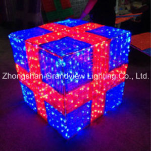 LED Square Gift Box Christmas Light for Decorating pictures & photos
