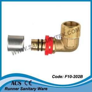 Brass Press Fitting for Pex-Al-Pex Pipe (F10-202B) pictures & photos