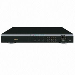 Standalone DVR with 16-Channel Video-in, 4-Channel D1 and 12-Channel CIF