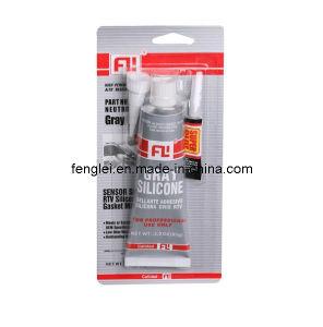Acetic Grey High Temperature RTV Gasket Maker--Grey RTV Silicone Sealant