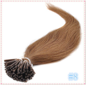 Pre-Bonded Keratine Stick I Tip Human Hair Extensions pictures & photos