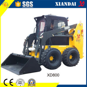 800kg 0.5cbm Wheel Skid Loader with CE pictures & photos