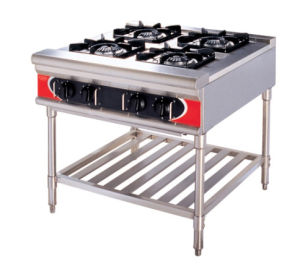 Free Standing Gas Burners/Commercial Coutertop Gas Burners (GML-4W) pictures & photos