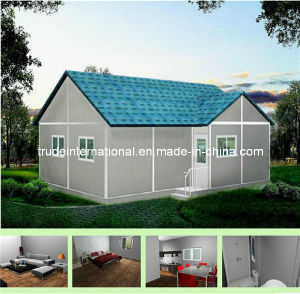 Movable Living Prefabricated/Prefab/Modular/Mobile House as Villa pictures & photos