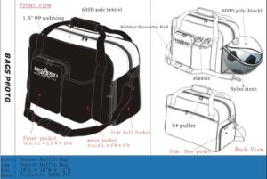 Sport Soccer Duffle Bag with Shoe Pocket Sh-8234 pictures & photos