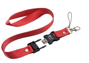 Xmas Gift Lanyard USB for Sale Memory Stick Pendrive 4gig 8gig pictures & photos