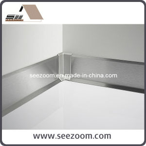 High Quality High Gloss Aluminum Metal Skirting Board