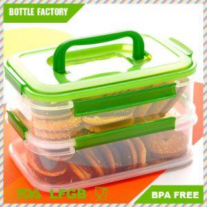 2 Layer Plastic Transparent Sealed Crisper Kitchen Food Storage Box Moistureproof Rectangle Storage with Handle  sc 1 st  Ningbo Guantianxia Houseware Co. Ltd. & China 2 Layer Plastic Transparent Sealed Crisper Kitchen Food ...
