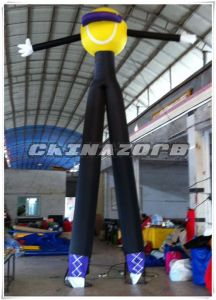 New Creative Inflatable Baseball Sky Dancer Printed Customized Logo