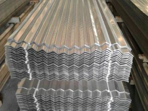China Zinc Coated Galvanized Corrugated Roof Sheet Gi Roofing Sheet