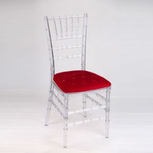 Clear Transparent Polycarbonate Resin Chiavari Tiffany Chairs