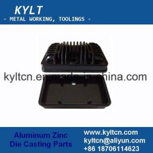 OEM Aluminum Zinc Alloy Die Casting Housing for Electornic Accessories