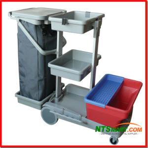 Commercial Cleaning Trolley (N000006174) pictures & photos