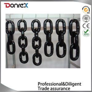 Alloy Steel G80 High Tensile Chain with Black Painting